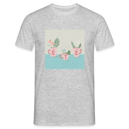 fleurs d'été - Maglietta da uomo