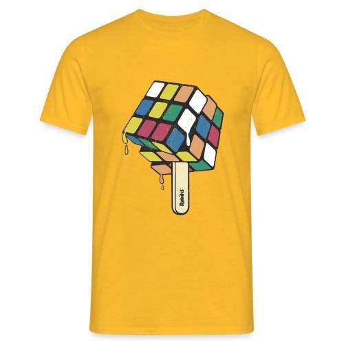 Rubik's Cube Ice Lolly - Men's T-Shirt