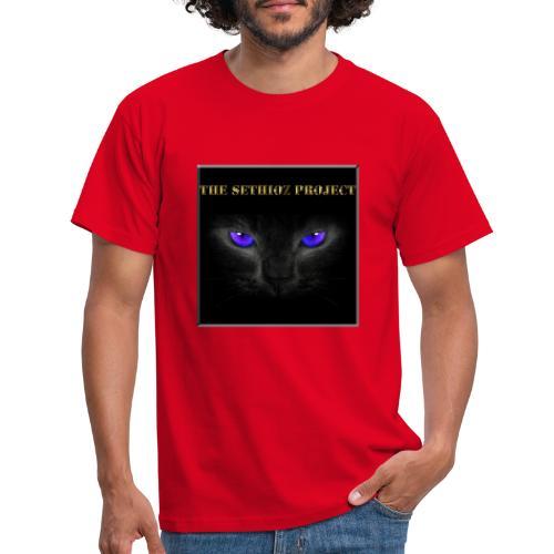 The Sethioz Project Black Cat - Men's T-Shirt