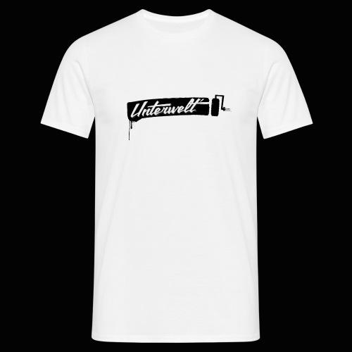 Unterwelt Farbrolle - Männer T-Shirt