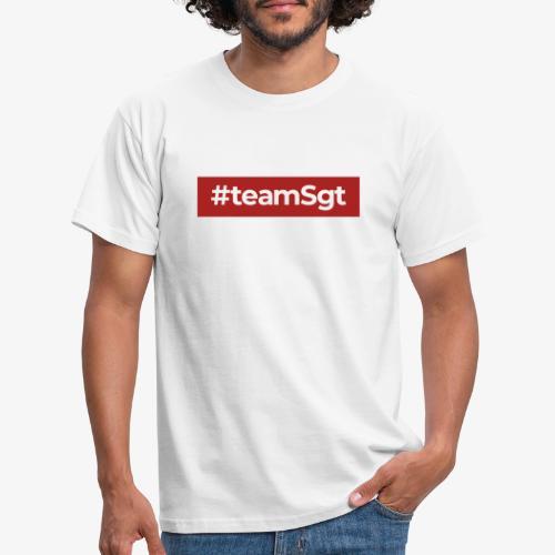 #teamSgt - Mannen T-shirt