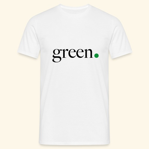 Green - T-shirt Homme