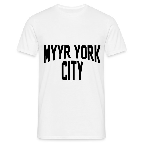 MYYR YORK CITY - Miesten t-paita