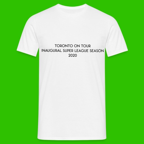 Toronto On Tour - Black - Men's T-Shirt