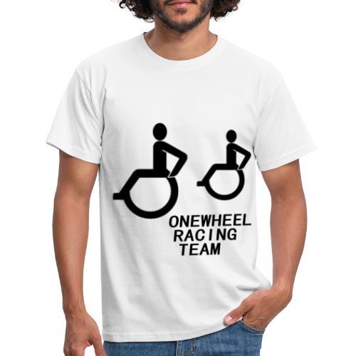 Wheelchair racing team - Männer T-Shirt