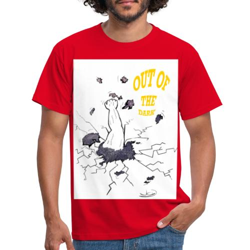 out of the dark - Männer T-Shirt