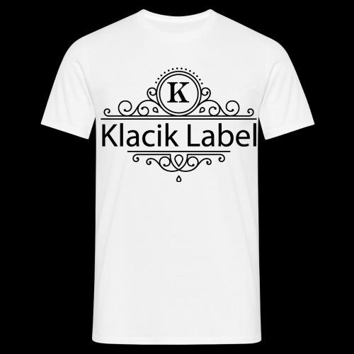 Klacik Label Black Logo Edition - T-shirt Homme