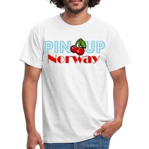 Pinup Norway Fan Club - T-skjorte for menn