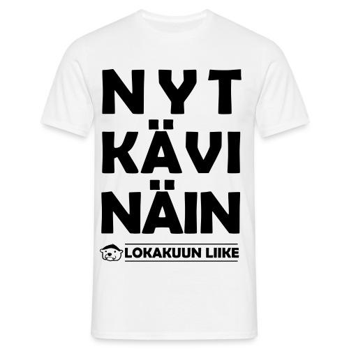valmis nytkaevinaein - Miesten t-paita