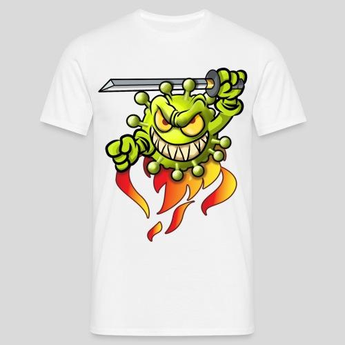 Evil Corona - Männer T-Shirt