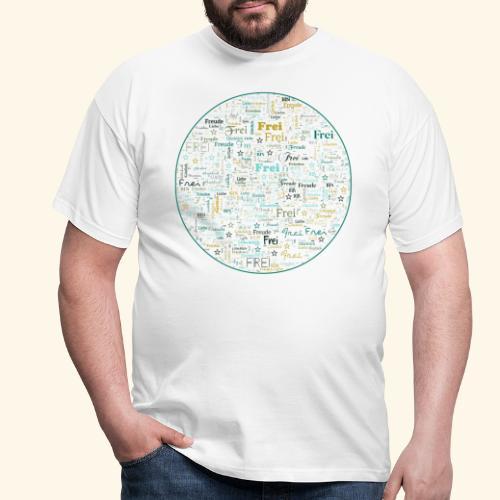 Ich bin - Männer T-Shirt