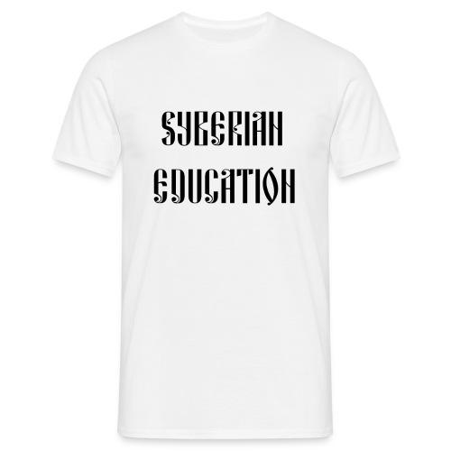 Russia Russland Syberian Education - Men's T-Shirt