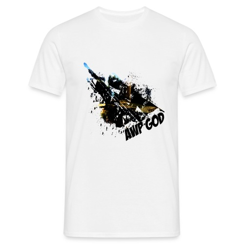 17970 2CAWP god - Men's T-Shirt