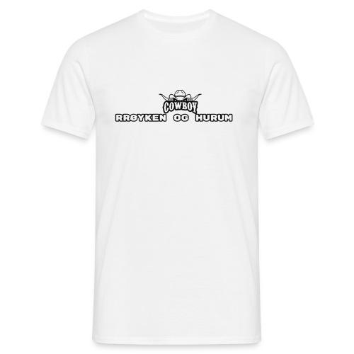 rh cowboys tshirt - T-skjorte for menn