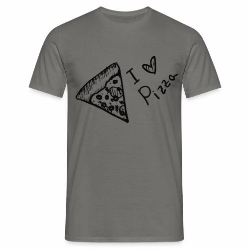 I LOVE PIZZA - Männer T-Shirt