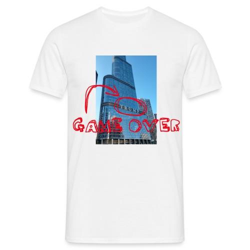 Game over Trump - Männer T-Shirt