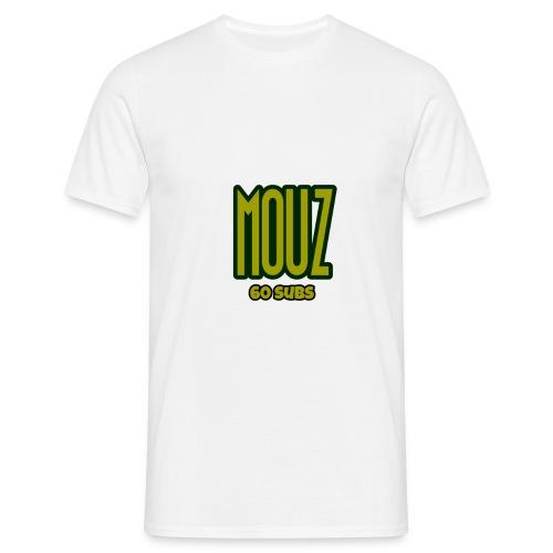 Mouz Limited Time 60 subs gold shirt - Men's T-Shirt