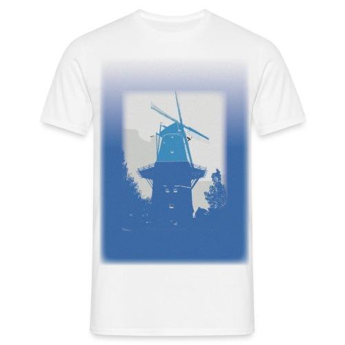 Mills blue - Koszulka męska
