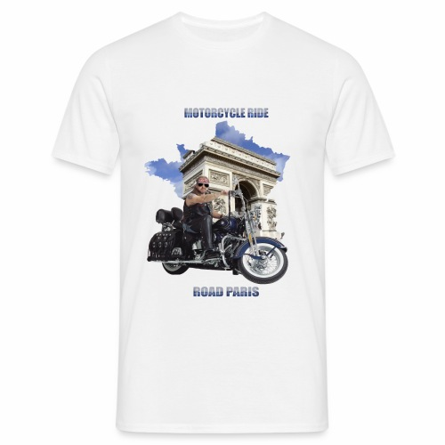 Motorcycle Ride Road - T-shirt Homme