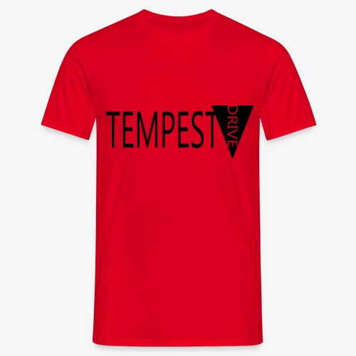 Tempest Drive: Full Logo - Herre-T-shirt