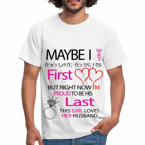 Ich liebe meinen Mann - Geschenkidee - Men's T-Shirt