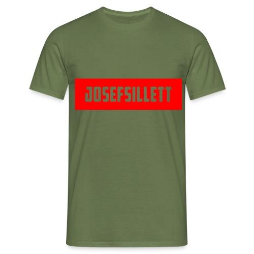 Josef Sillett Red - Men's T-Shirt