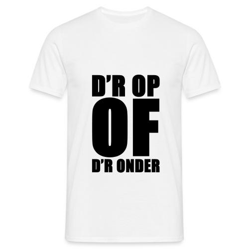 dropofdronder - Men's T-Shirt