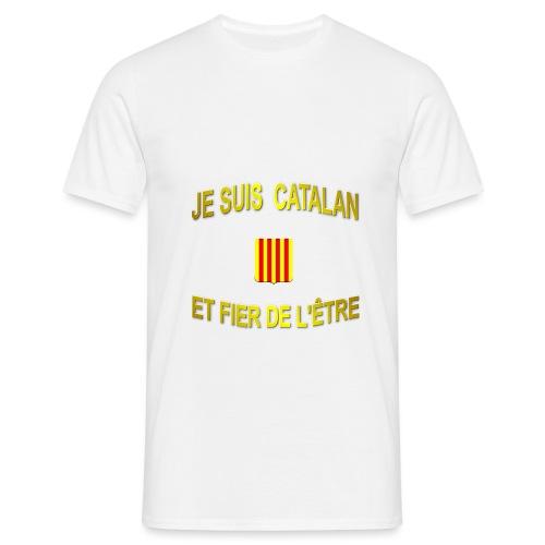 Tee-Shirt supporter du pays CATALAN - T-shirt Homme