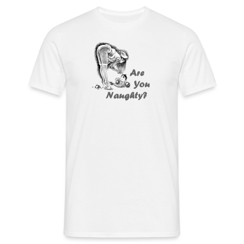 areyounaughty - Men's T-Shirt
