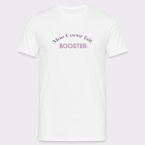 moncoeurfaitbooster - Men's T-Shirt