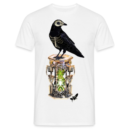 'Memento Mori' by BlackenedMoonArts - Herre-T-shirt