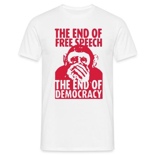 FREE SPEECH - Männer T-Shirt