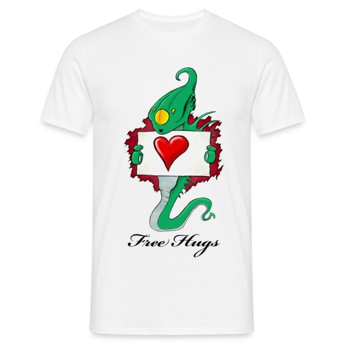 Alien Need Love - T-shirt Homme