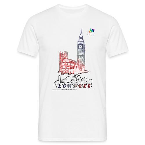 LONDRES - T-shirt Homme