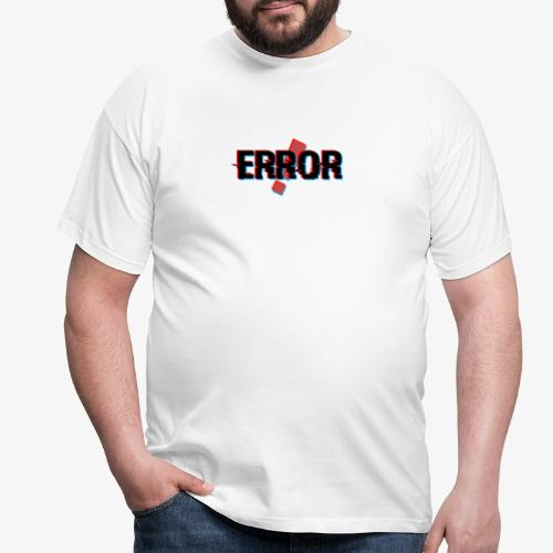 Błąd - Koszulka męska