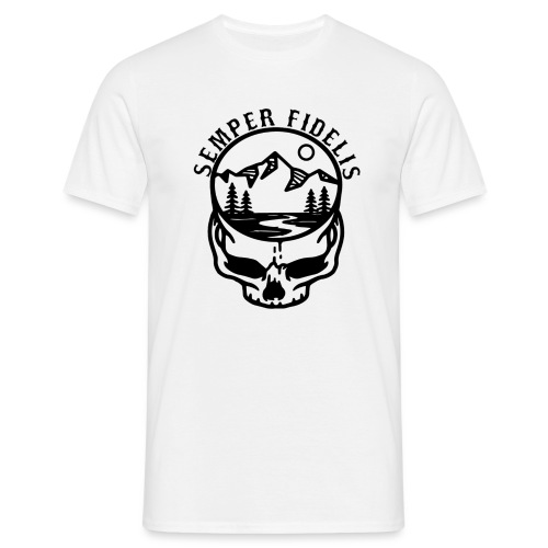 ''SEMPER FIDELIS'' TEAR OF GOD - Männer T-Shirt