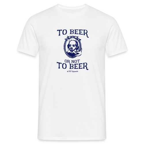 Shakesbeer T-Shirt - Men's T-Shirt