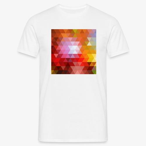 TRIFACE motif - T-shirt Homme