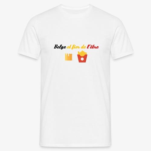 Belge et fier de l'être - T-shirt Homme