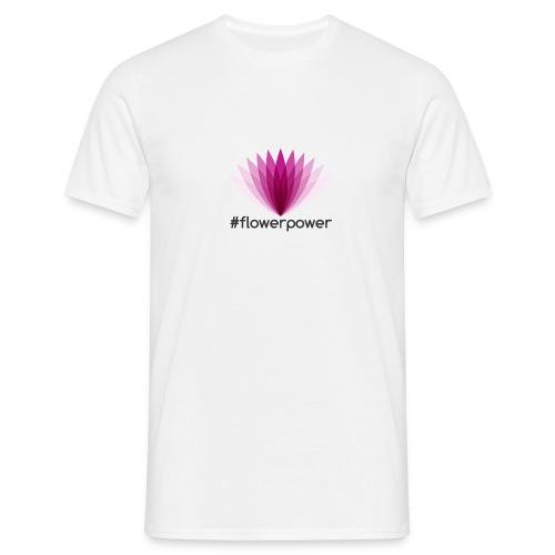 #flowerpower - Men's T-Shirt