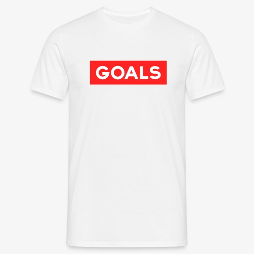 GOALS SQUARE BOX - Men's T-Shirt