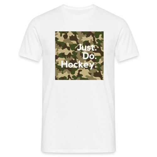 Just.Do.Hockey 2.0 - Mannen T-shirt