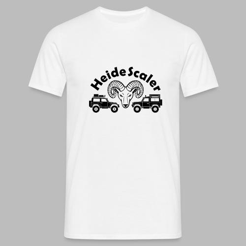 Heide Scaler black HQ - Männer T-Shirt