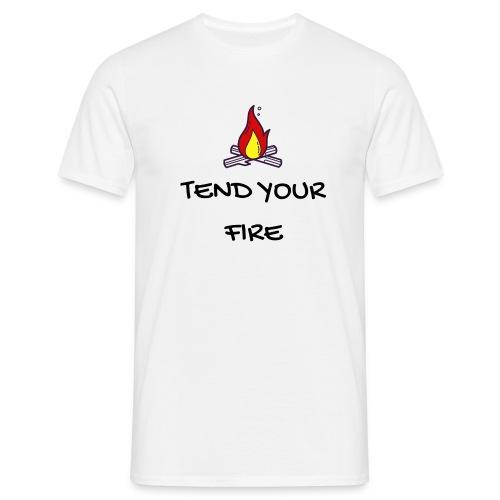 tendyourfire black 1 - Männer T-Shirt