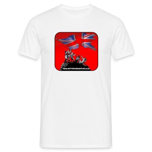British Horror Films logo - Men's T-Shirt