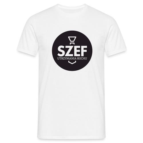 Logo-szef-utrzymania-ruchu_ok_net_black - Koszulka męska