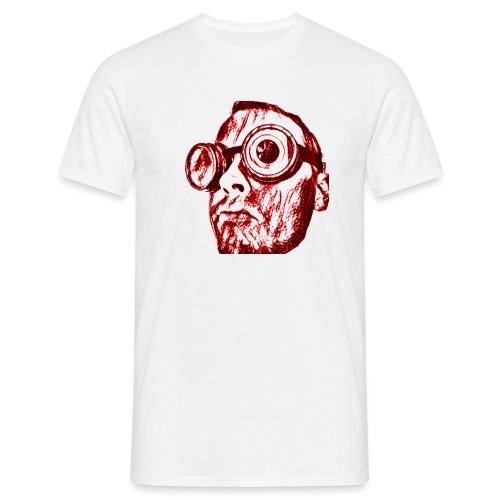 Face Tegner Red Grande - Herre-T-shirt