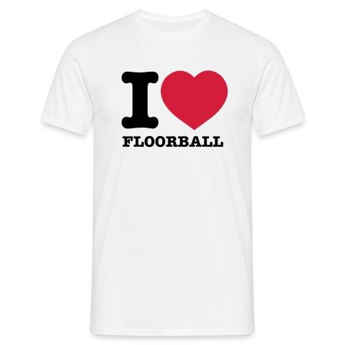 ilovefloorball3 - T-shirt herr