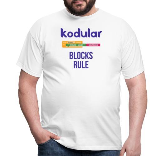 Blocks Rule - Men's T-Shirt
