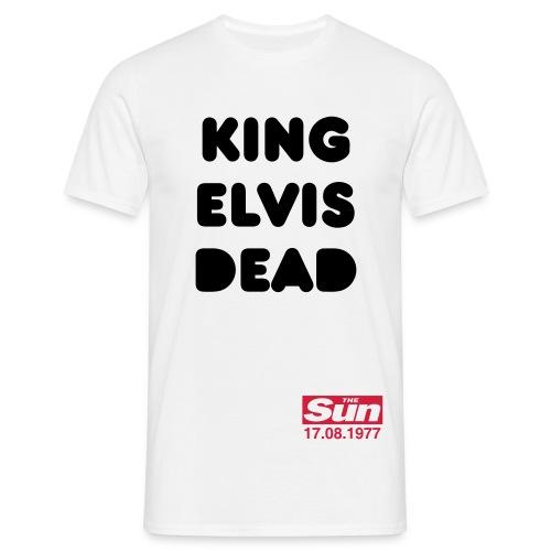 King Elvis Dead 2 - Men's T-Shirt